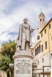 Belstoren en standbeeld 3 Royalty-vrije Stock Foto