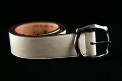 Belt. Isolated on black background Stock Photography