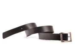 Belt. Isolated on white background Stock Photos