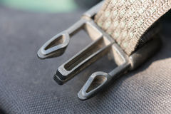 Belt attachment close up Royalty Free Stock Photos