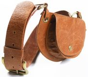 Belt bag Royalty Free Stock Image