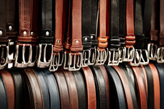 Belt bazar Stock Images