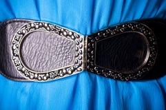 Belt on blue background Royalty Free Stock Photography