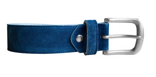 Belt blue Stock Images