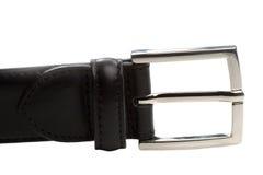 Belt buckle. Closeup Stock Photo