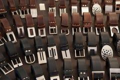 Belt buckles Stock Photo