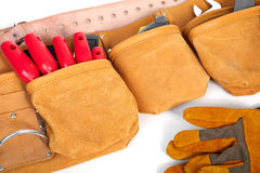 Belt builder and instruments Stock Photos