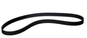 Belt car engine isolated white background. Belt car engine timing belt isolated on white background stock image