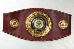 A belt of the champion on Boxing Royalty Free Stock Image