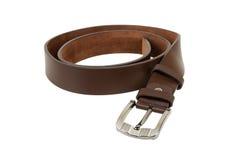 Belt chet. Man's belt on white background Stock Photography
