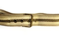 Belt with cloth Royalty Free Stock Image