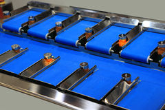 Belt conveyor Stock Images