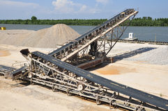 Belt conveyor Stock Photography
