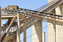 Belt conveyors Stock Image