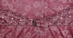 Belt with decorations Stock Image