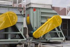 Belt Guard safety protection of motor. Belt Guard safety protection for motor of air blower stock photos