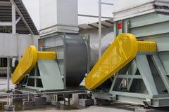 Belt Guard safety protection of motor. Belt Guard safety protection for motor of air blower stock photography