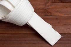 Belt - karate clothing accessory Royalty Free Stock Photo