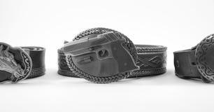 Belt for Men. Machines belt wear for men Stock Image
