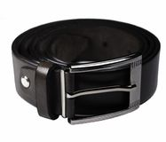 Belt with metal buckle Stock Images