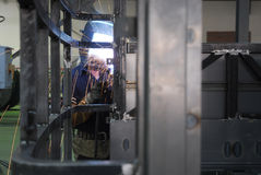 belt operator welding Στοκ Εικόνα