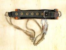 Belt safety montage vintage Royalty Free Stock Image
