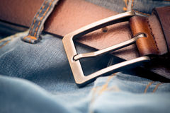 Belt selective focus Royalty Free Stock Image