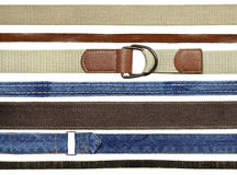 Belt set Royalty Free Stock Image