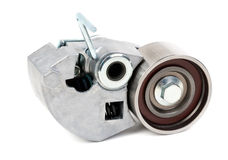 Belt tensioner for V-ribbed belt Royalty Free Stock Photos