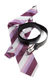 Belt and tie Stock Photography