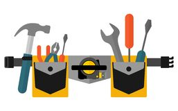 Belt with tools Stock Image