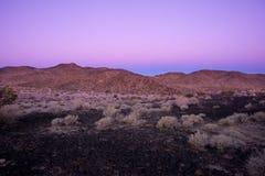 Belt of Venus during sunrise Stock Image