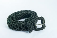 Belt (weave thread). Isolated background Royalty Free Stock Photo