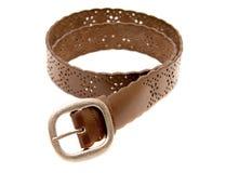 Belt on white Royalty Free Stock Photos