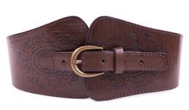 Belt on white background Royalty Free Stock Photography