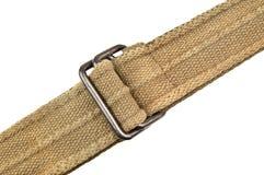 Belt on white Stock Photo