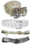 Belt - woman accessories Stock Photos