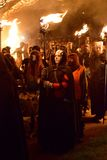 Beltane Fire Festival Procession Stock Photography
