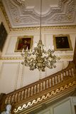 Belton议院楼梯 库存图片