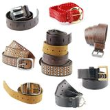 Belts Stock Image