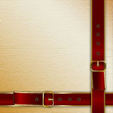 Belts with buckle Stock Photo