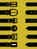 Belts for clothing.Vector illustration Royalty Free Stock Photos