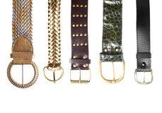 Belts collection #1 | Isolated Royalty Free Stock Photo