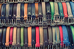 Belts in Florence Royalty Free Stock Image
