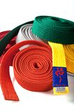 belts karate Fotografering för Bildbyråer
