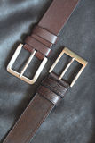Belts On Leather Stock Photos