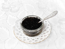 Beluga caviar Royalty Free Stock Photography