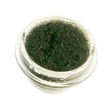 Beluga caviar isolated Stock Image
