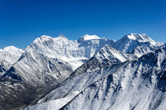 Belukha - highest peak of Altai mountains, Russia Royalty Free Stock Photography