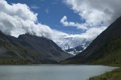 Belukha l'più alto picco di Altai Fotografie Stock Libere da Diritti